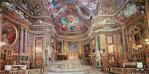 Basilica Di Sant Andrea Delle Fratte A Roma Www Immaculate One